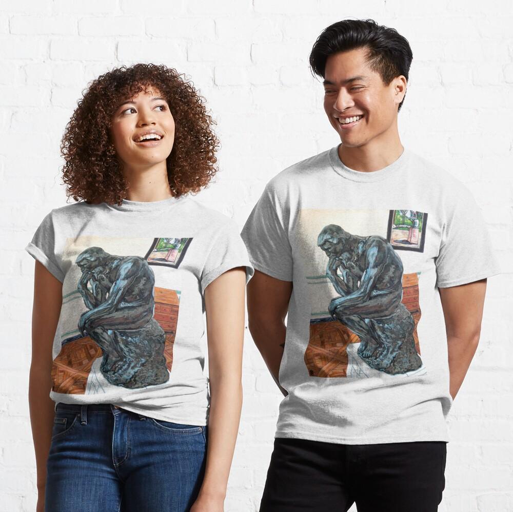 Le Penseur The Thinker Classic T-Shirt