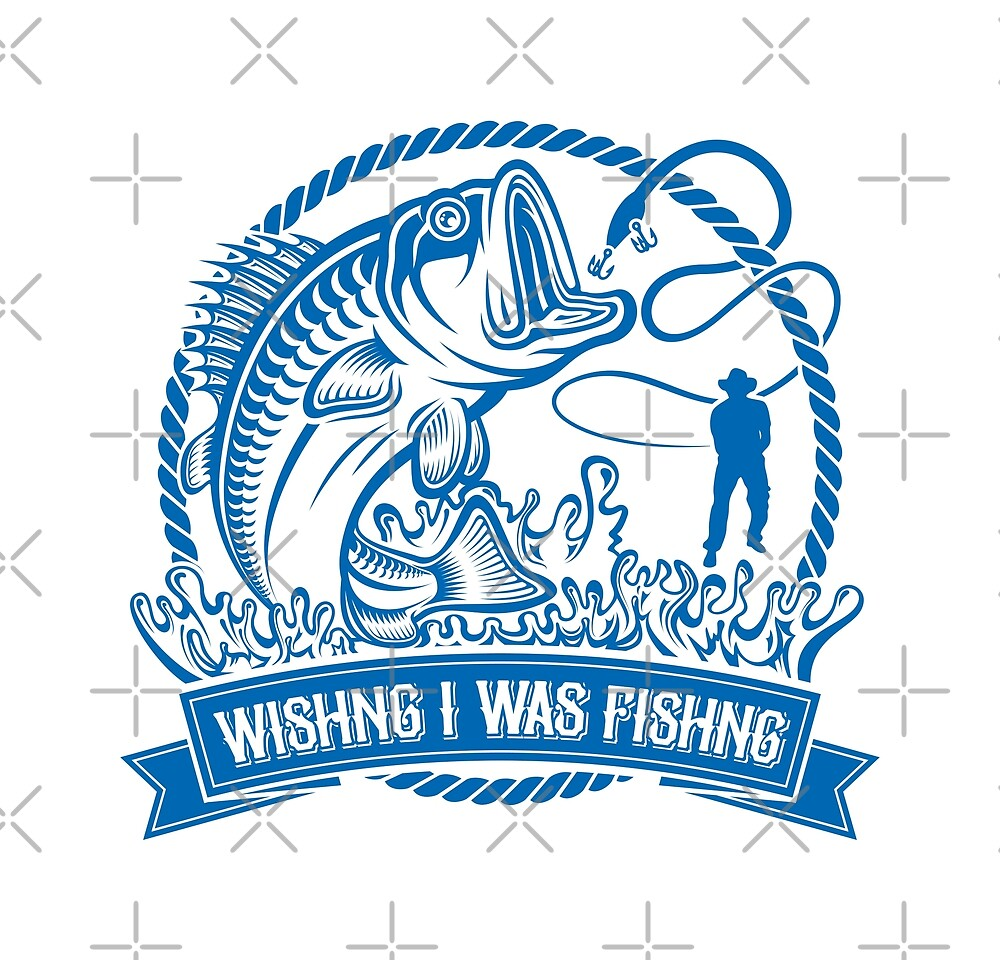 Wishing I Was Fishing by Bruvi