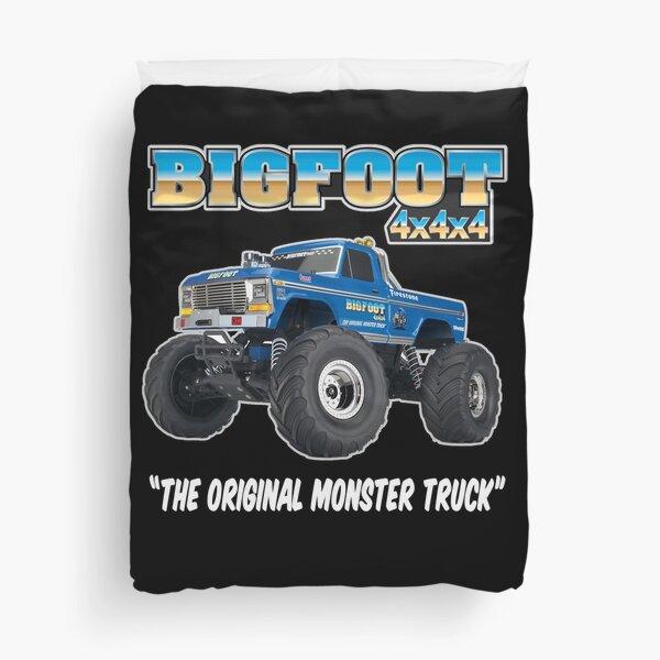 Bigfoot The Original Monster Truck Gift for Monster Truck Fans Duvet Cover