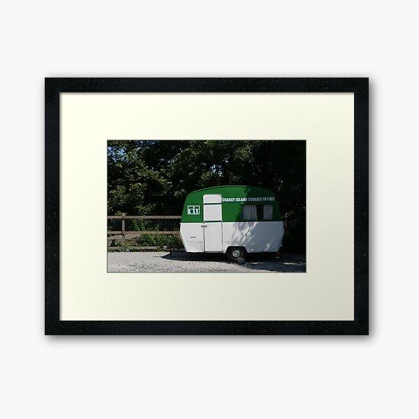 Craggy Island Tourist Office Framed Art Print