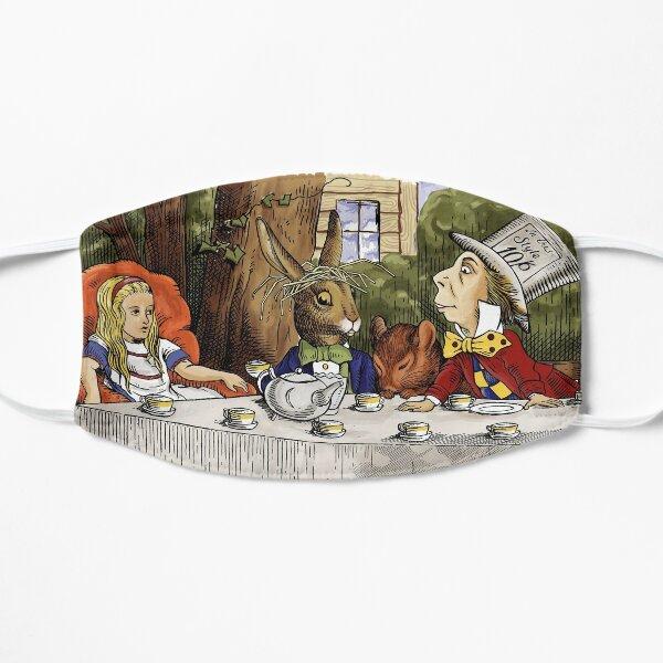 Alice au pays des merveilles - Tea Party Mad Hatters Masque sans plis