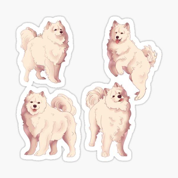Samoyed Style Sticker