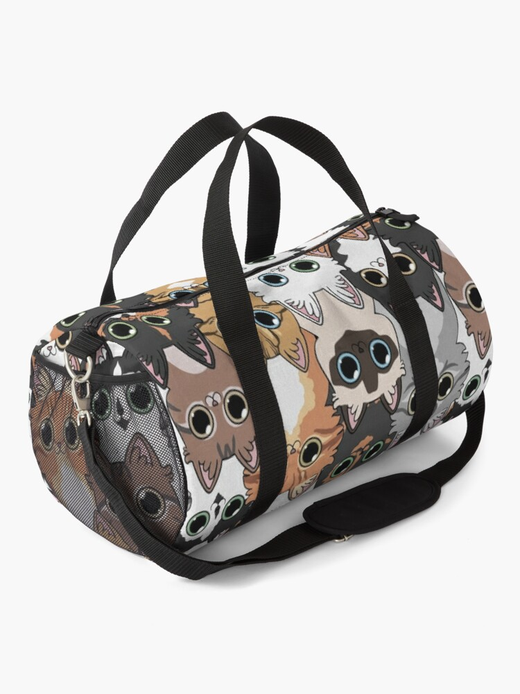 Alternate view of Lots of cats! Duffle Bag