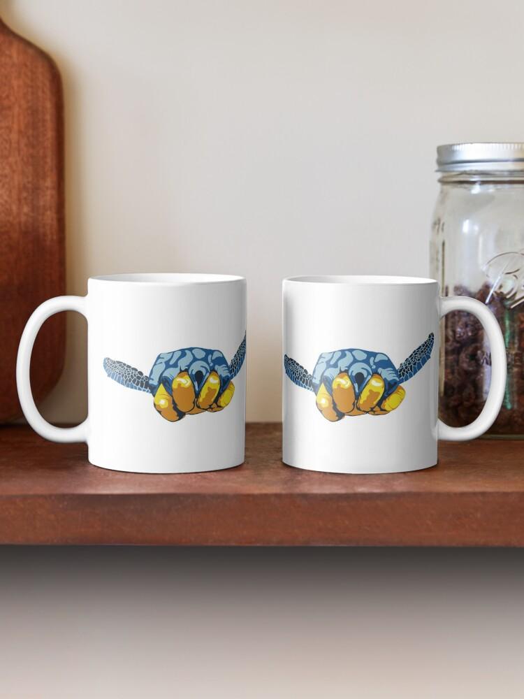 Alternate view of Turtle Hand Signal Mug