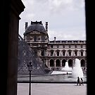 Louvre Peek by Andy Sherman
