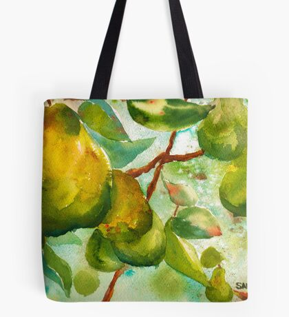 Pear Season Tote Bag