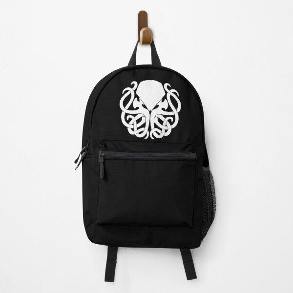 Cthulhu logo high quality black Backpack