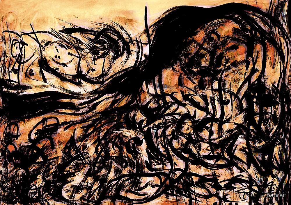 darkness.....battle turmoil by banrai