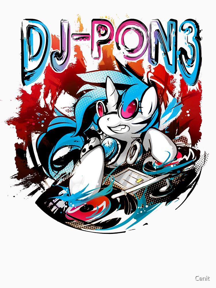 DJ-Pon3 v2 | Unisex T-Shirt