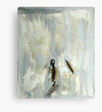 Broken matchstick Metal Print