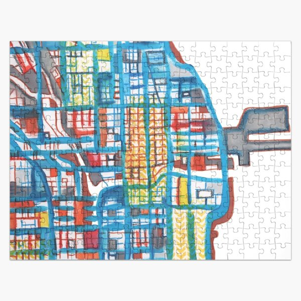 Navy Pier, Chicago (Yellow) Jigsaw Puzzle