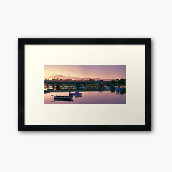 Soft and Sensual Framed Art Print