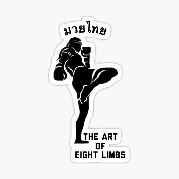 The Art of Eight Limbs Sticker