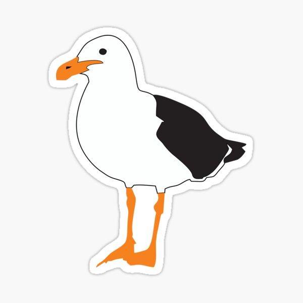Bournemouth Seagull Sticker