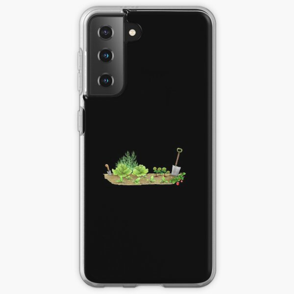 Ask Me About My Plants, Rabbit in the Garden Samsung Galaxy Soft Case
