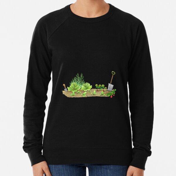 Ask Me About My Plants, Rabbit in the Garden Lightweight Sweatshirt