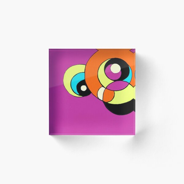 Kreise Acrylblock