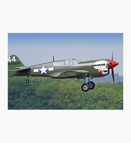 Curtiss P-40M Kittyhawk - Dunsfold 2013 Photographic Print