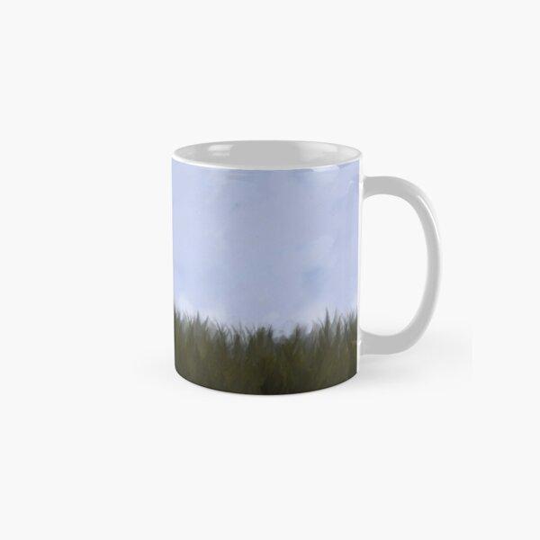 Staring Rabbit Needs Coffee.  Classic Mug