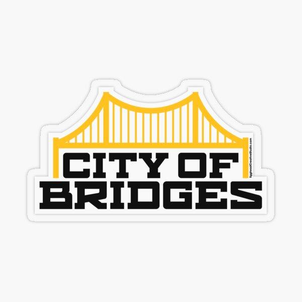City of Bridges Transparent Sticker