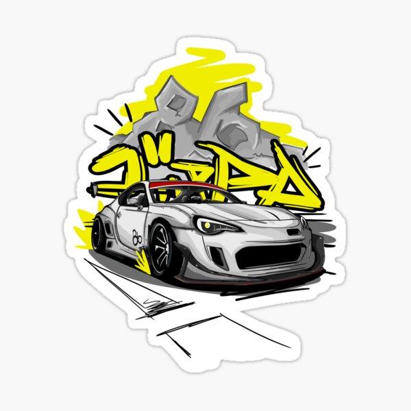 Knallte GT86 Sticker