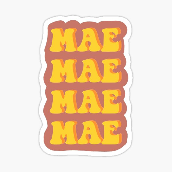 Mae Sticker