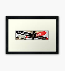 The Signpost Framed Print