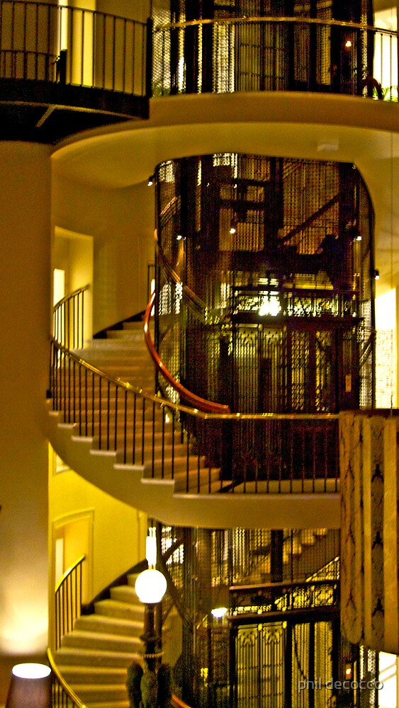 Stairs And Lift by phil decocco