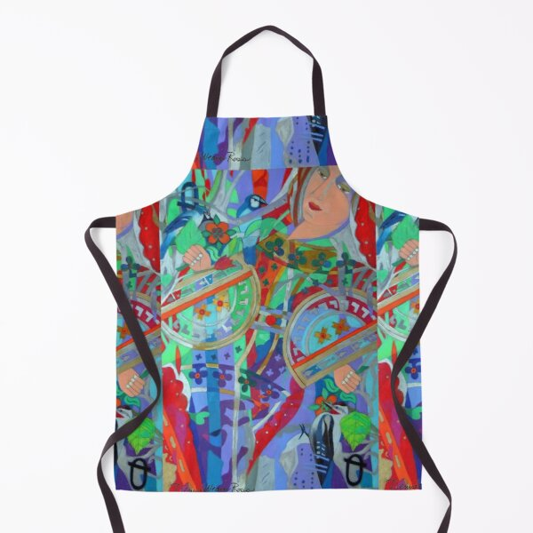 Queen of the Birch Trees Apron