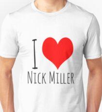 I Love Nick Miller 2 Unisex T-Shirt