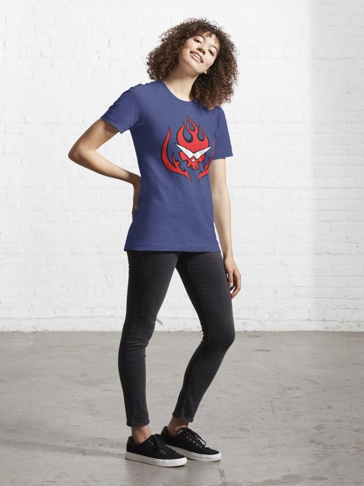 Alternate view of Tengen Toppa Gurren Lagann - Team Dai Gurren Logo Essential T-Shirt