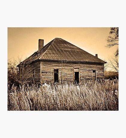 Old Time Country Living! Photographic Print