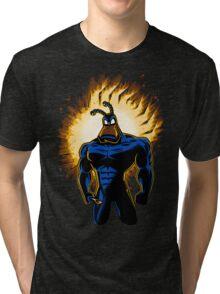The Dark Mite Rises Tri-blend T-Shirt