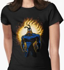 The Dark Mite Rises Women's Fitted T-Shirt