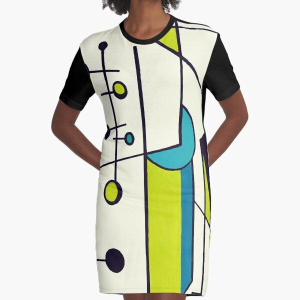 60ies No. 3 T-Shirt Kleid