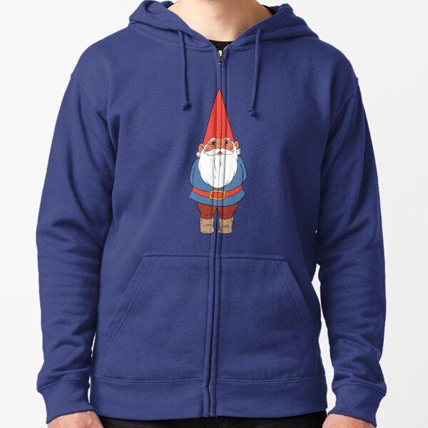 David the Gnome Zipped Hoodie
