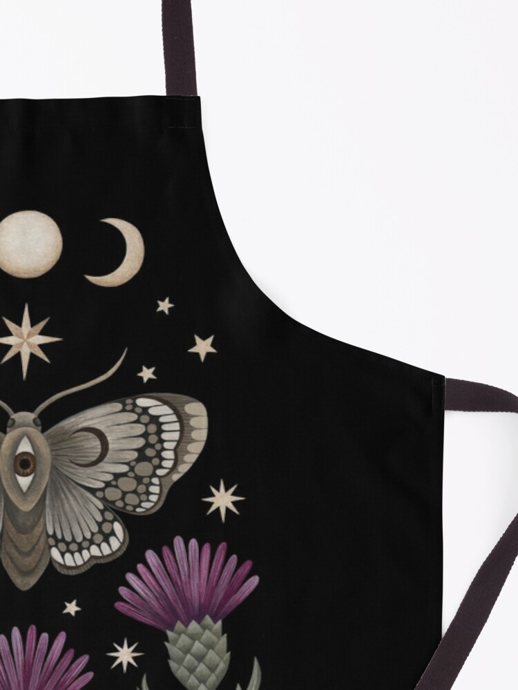 Alternate view of Thistle and moth Apron