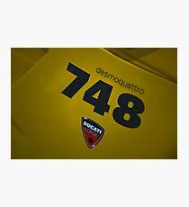 Ducati 748 Biposto Photographic Print