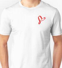 Simplistic Pixel Heart Unisex T-Shirt