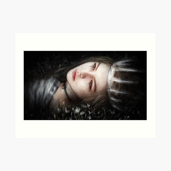 Flowers In the Dark Art Print