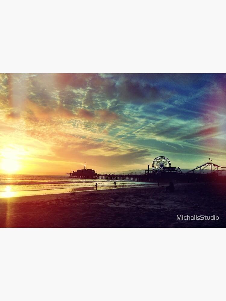 Santa Monica Sunset by MichalisStudio