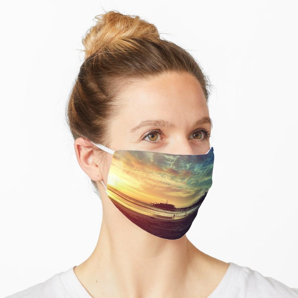 Santa Monica Sunset Mask