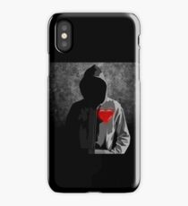 hooded lover iPhone Case/Skin