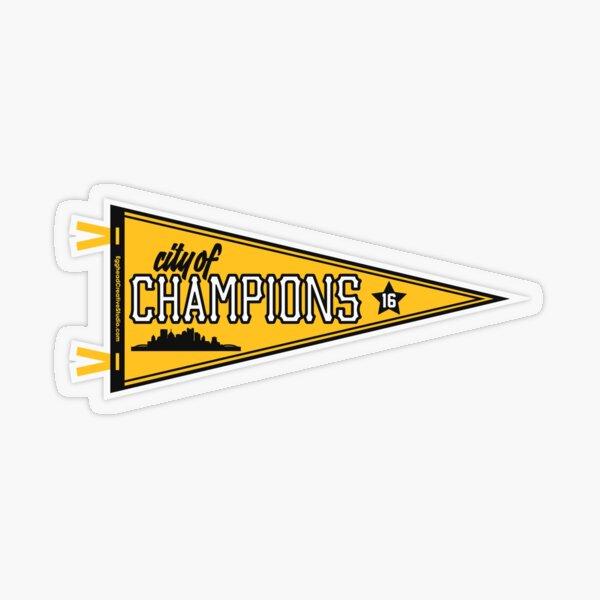 City of Champions Transparent Sticker