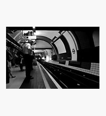 Piccadilly Circus - The Platform Photographic Print