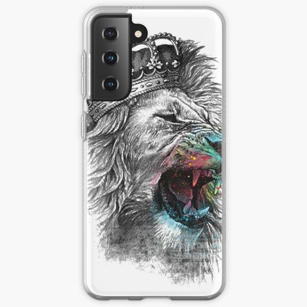 Lion with Crown Samsung Galaxy Soft Case