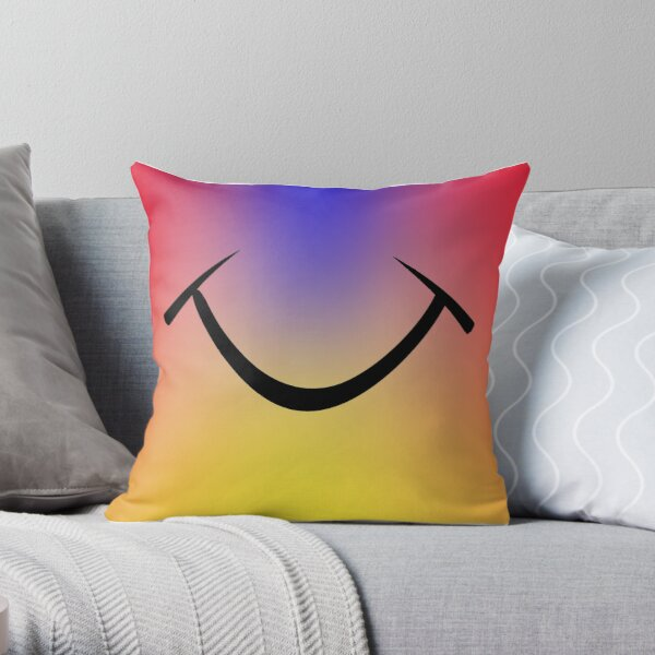 Happy smile 1 Throw Pillow