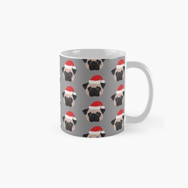 Christmas Pug Classic Mug