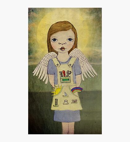 Industrial Angel Photographic Print