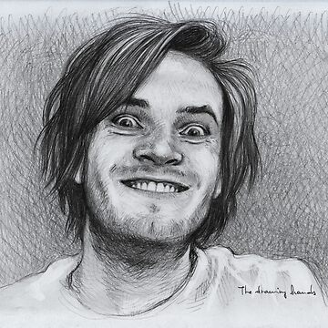 PewDiePie by thedrawinghands